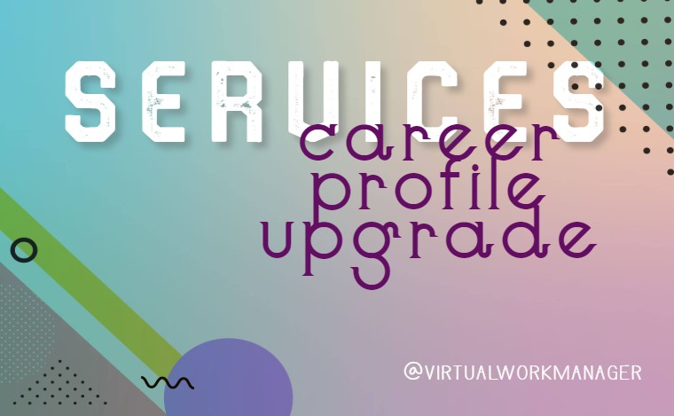 Career Profile Upgrade