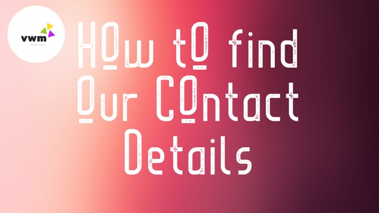 Tour Series: Contact Page