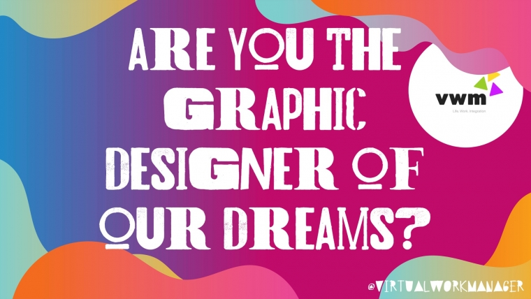 We are looking for a Graphic Designer