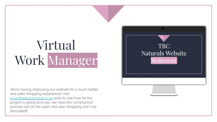 The TBC Naturals Web Design Project