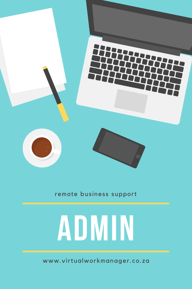 we offer administrative support in kempton park