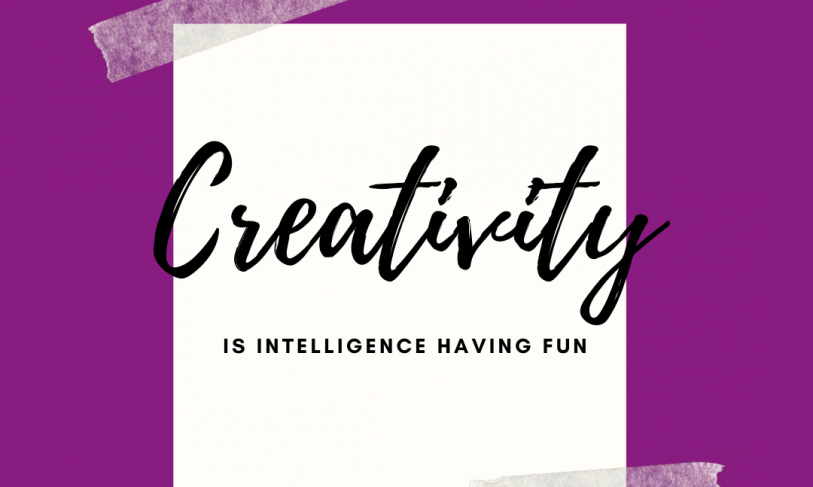 Creativity can be applied to all Professions