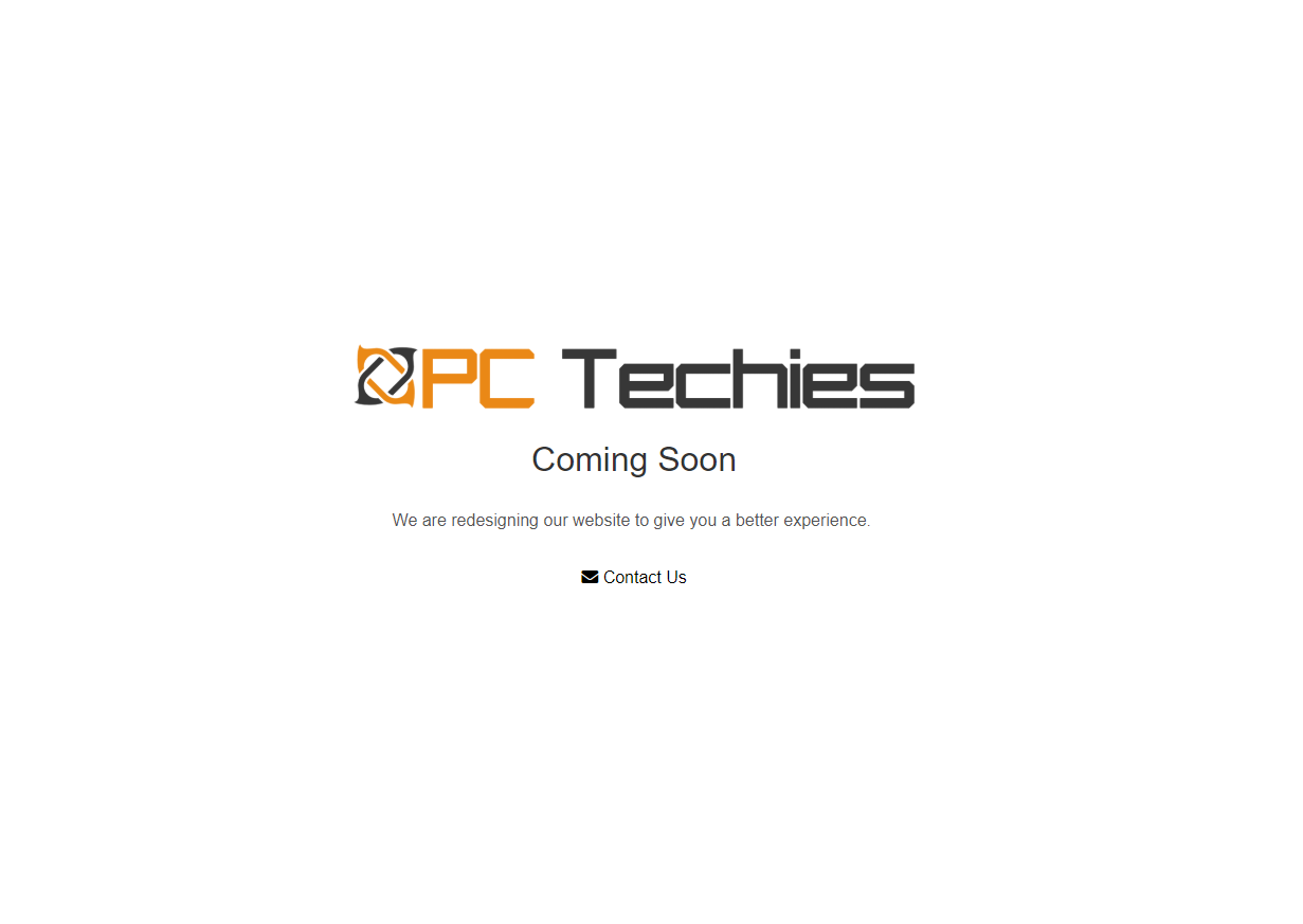 The PC Techies Web Design Project