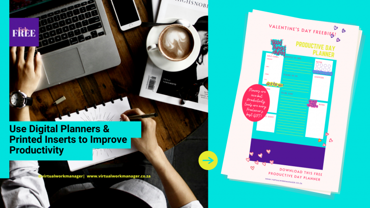 March Freebies: Planner Inserts (FREE)