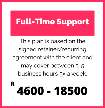 Full-Time Support