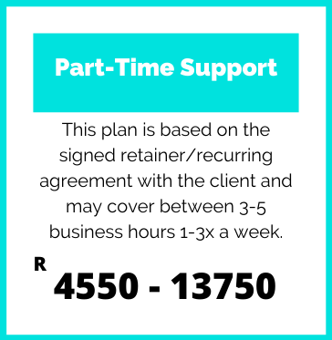 Part-Time Support